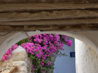 Greece, Naxos – arch, Aug.2013