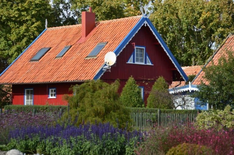 かわいい家々