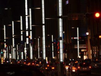 Japan, Tokyo – white lamps, Aug.2014