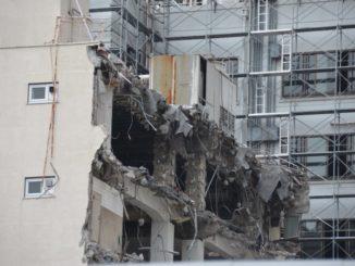 Japan, Tokyo – demolish, Aug.2014