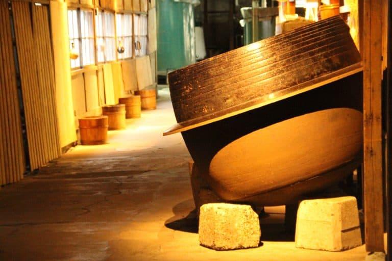 Un'altra visita a una fabbrica di sake a Niigata
