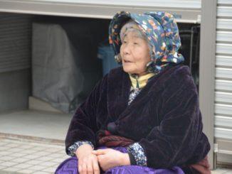 Wajima – woman in the market, Mar.2016