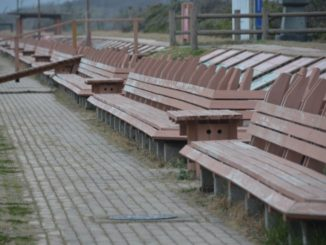 Masuhogaura – long bench, Mar.2016