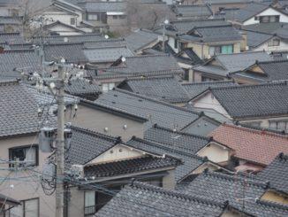 Wajima – roofs, Mar.2016