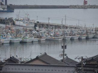 Wajima – fishing boats, Mar.2016