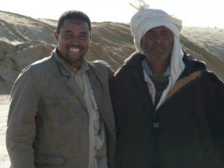 Mr. Sala, il nostro autista in Tunisia