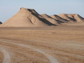 Deserto del Sahara in Tunisia