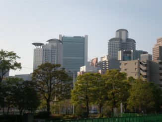 Japan, Osaka – urban landscape , Apr. 2013