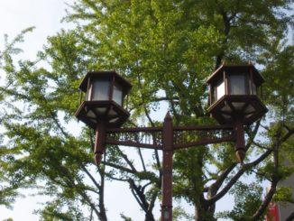 Japan, Osaka – nice lamps, Apr. 2013