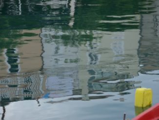 Croatia, Pag – reflection, July 2014