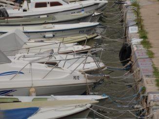 Croatia, Pag – many boats, July 2014