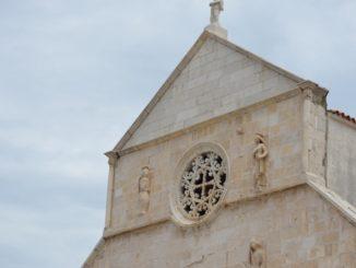 Croatia, Pag – church, July 2014