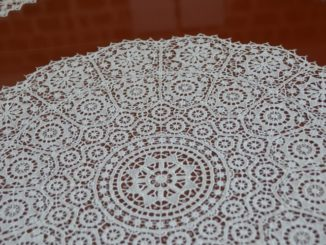 Croatia, Pag – lace in museum 1, July 2014