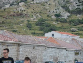 Croatia, Pag – storehouse, July 2014