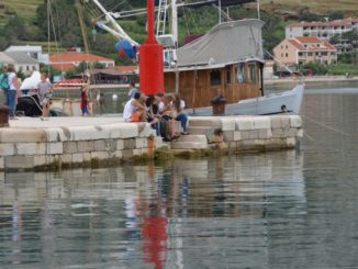 Croatia, Pag – red, July 2014