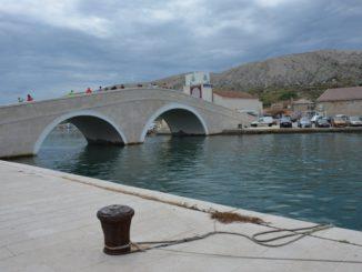Croatia, Pag – bridge, July 2014