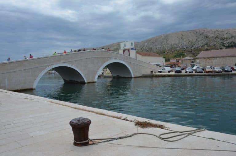 Croatia, Pag – bridge, July 2014 (Pag)