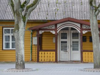 Lithuania, Palanga – pretty house, Sept.2014