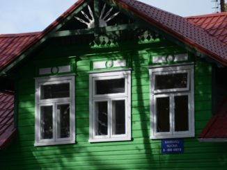 Lithuania, Palanga – green house, Sept.2014