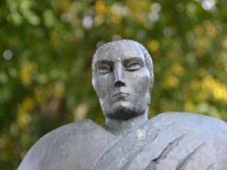 Lithuania, Palanga – sculpture 5, Sept.2014