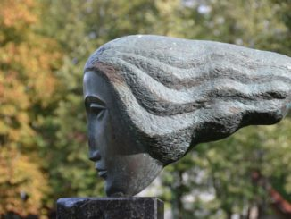 Lithuania, Palanga – sculpture 4, Sept.2014