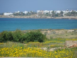 Paphos – view from the ruins, Mar.2015