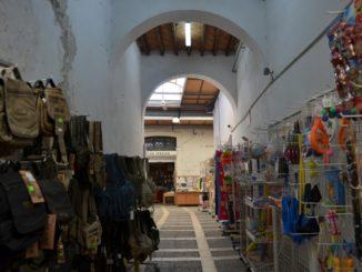 Deserted market