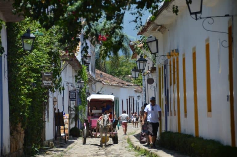 Enjoyed the town of Paraty