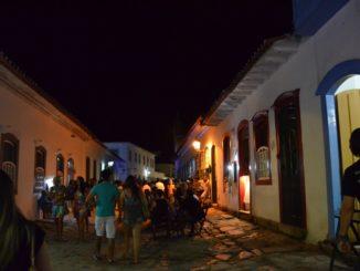town – street at night, Jan.2016