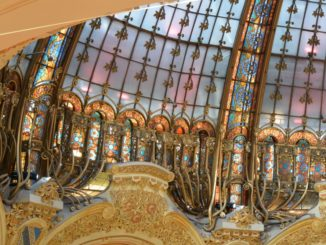 Shopping in Galeries Lafayette