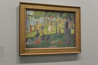 France-Paris-Musée de l'Orangerie-special exhibition-Seurat-painting