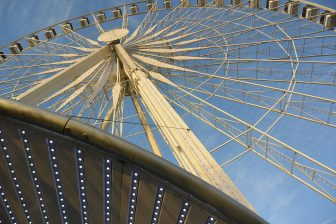 France-Paris-Jardin des Tuileries-big wheel
