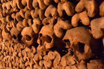 Catacombs of Paris, the largest ossuary in the world