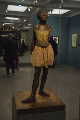 "France-Paris-Musée d'Orsay-""Degas at the Opéra""-statue-""14-year-old dancer"""