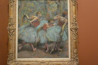 "France-Paris-Musée d'Orsay-""Degas at the Opéra""-""Three Dancers"""