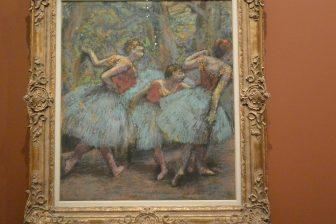 "Francia-Parigi-Musée d'Orsay-""Degas at the Opéra""-""Tre Ballerine"""