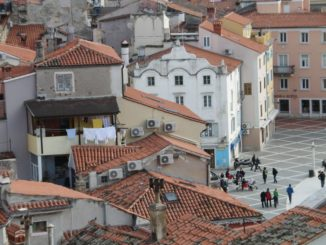 Slovenia, Piran – port, Feb. 2014