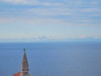 Slovenia, Piran – spire, Feb. 2014