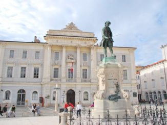 Slovenia, Piran – Tartini Square, Feb. 2014