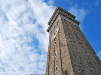 Slovenia, Piran – tower, Feb. 2014