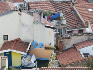 Slovenia, Piran – washings, Feb. 2014