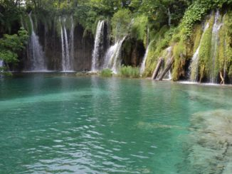 Croatia, Plitvice – waterfalls 6, July 2014