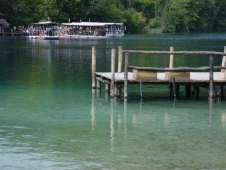 Croatia, Plitvice – boatman, July 2014
