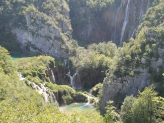 Croatia, Plitvice – waterfalls 1, July 2014