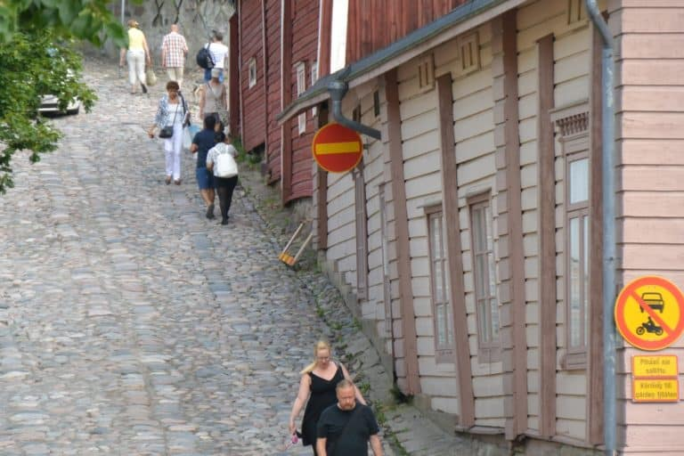 old town – slope, Aug.2015 (Porvoo)