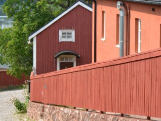 old town – red fence, Aug.2015