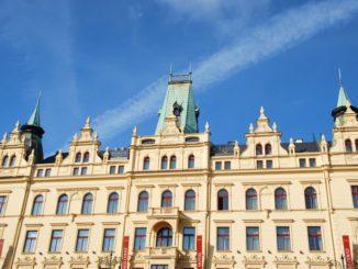 Czech, Prague – grand building, Sept.2013
