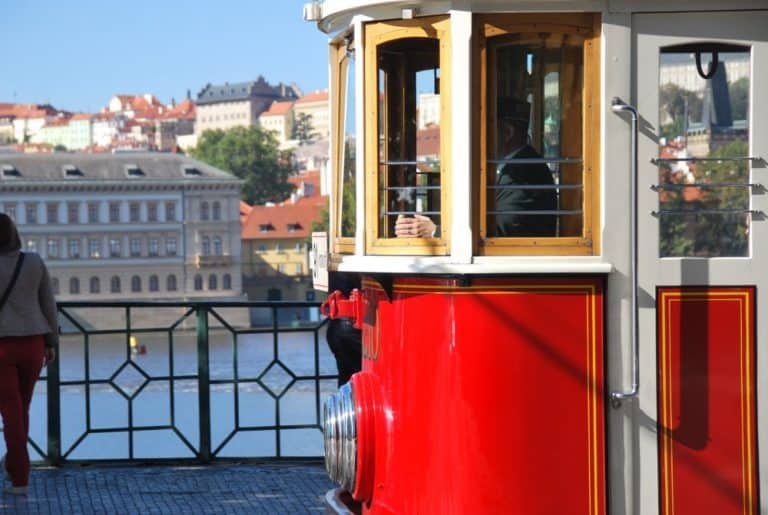 Tram a Praga