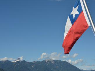 Todos Los Santos Lake – flag, Dec.2015