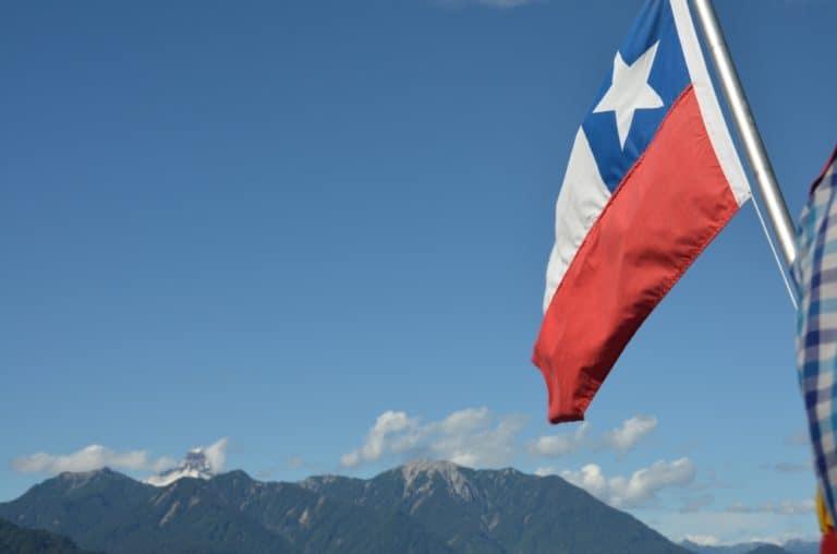 Todos Los Santos Lake – flag, Dec.2015 (Puerto Varas)